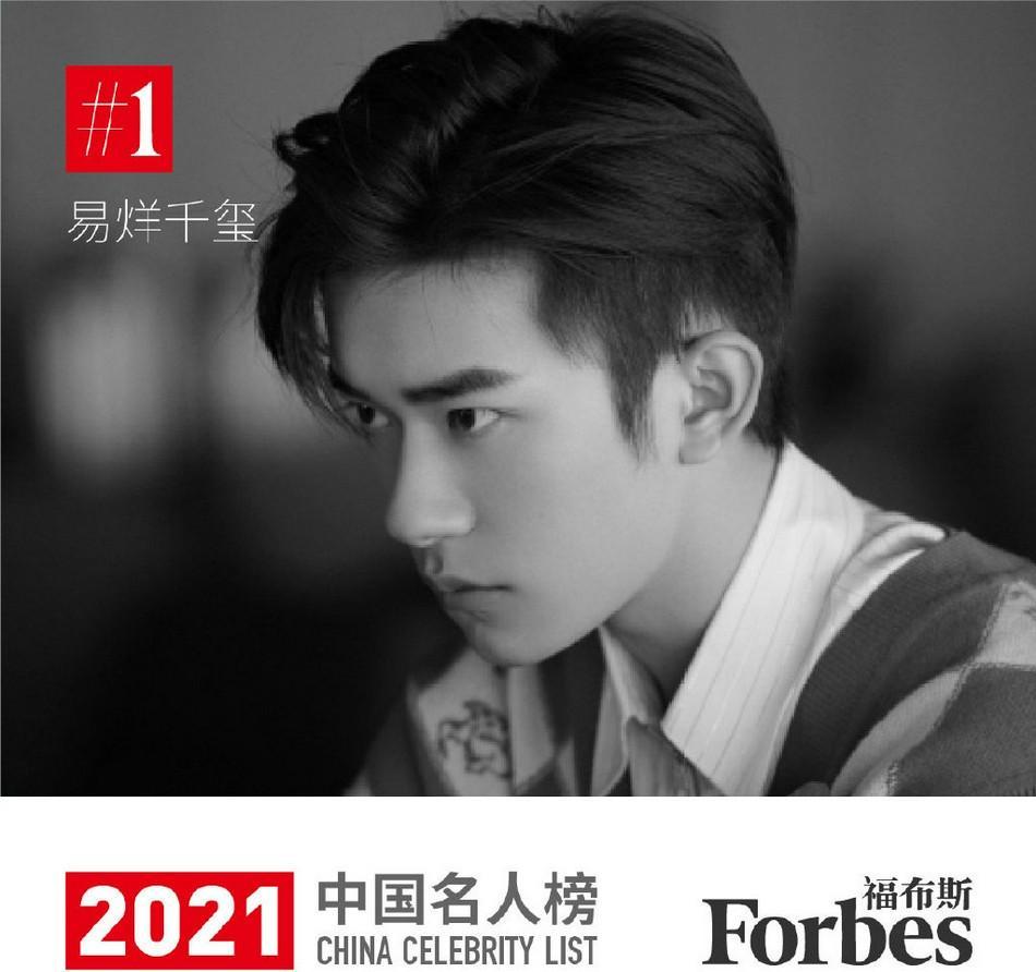 TFBOYS十年已过八,王俊凯、王源、易烊千玺最近的发展,中国福布斯名人榜易烊千玺排第一