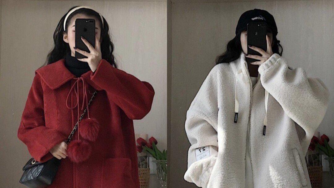 气质女生冬季穿搭合集,大衣的时尚和毛衣的精致,都是不错的选择