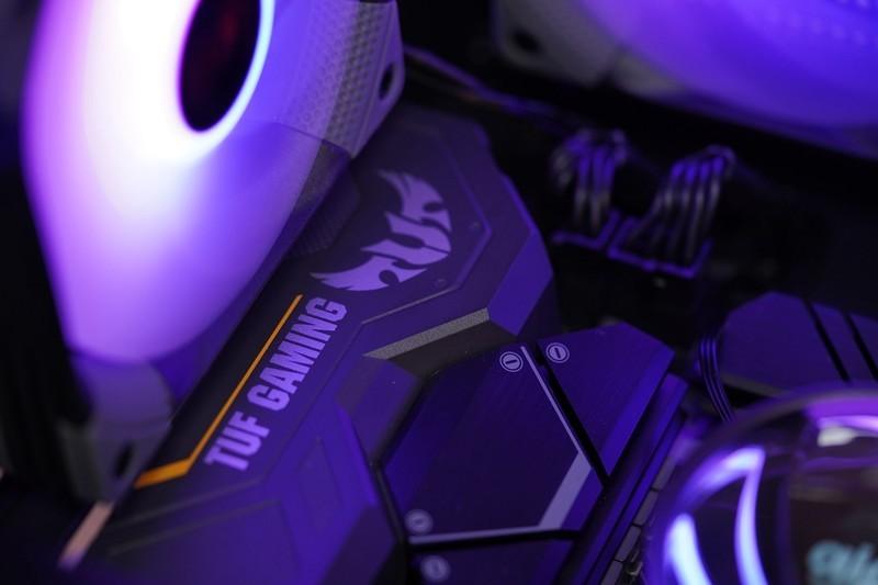 《【煜星平台怎么注册】赛博朋克电竞风,5800X+6700XT 3A平台静音游戏主机分享》