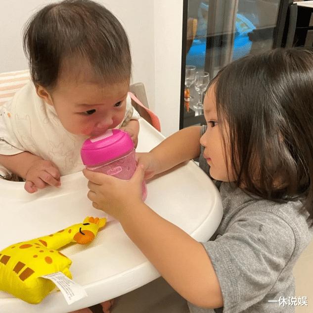 李亚男晒女儿正脸照,大眼睛十分可爱讨喜,网友:王祖蓝基因强大