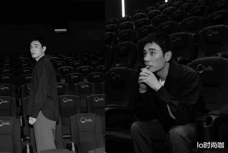 """李光潔為電影《峰爆》宣傳,休閑穿搭也有氣質,不愧是""""叔圈F4"""""""