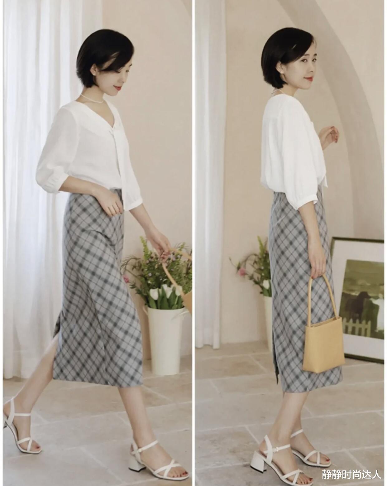 炎天盛行的裙子:中年女性适合穿这3款,显瘦百搭还很减龄_新闻娱乐头条