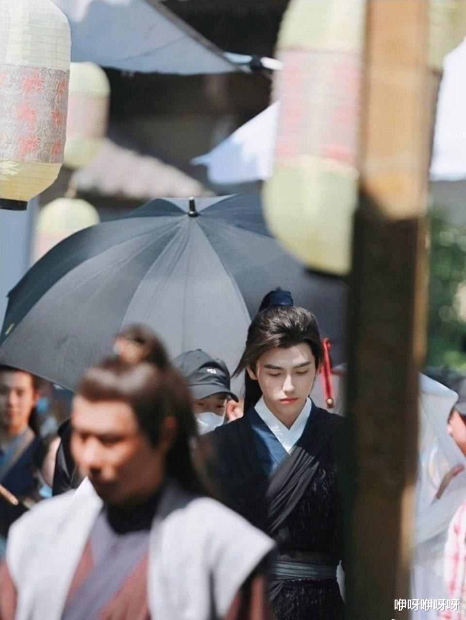 新剧撞型当年大火的《花千骨》,陈飞宇有望成为下一个国民男神?