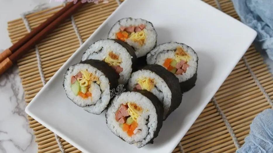 寿司,酷酷的饭盒便当