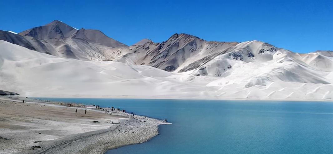 """喀什一超低调湖泊景点,5A级景区,曾入围""""奇异西北100"""