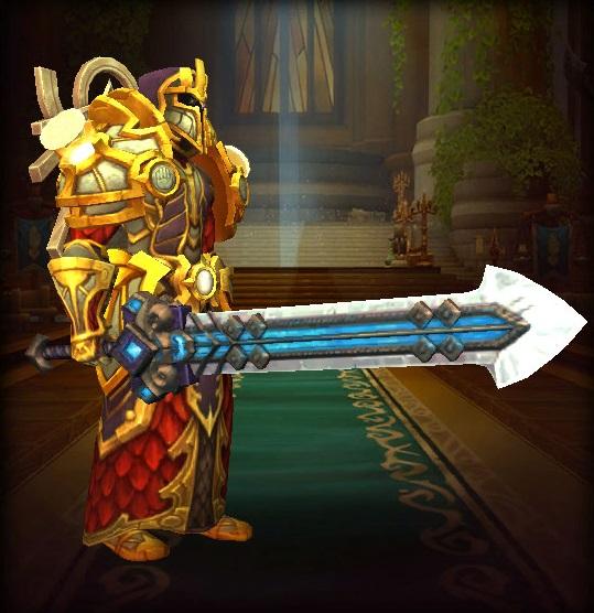 《【煜星平台注册网址】魔兽世界:值得收藏的双手剑幻化,第六把可在拍卖行购买》