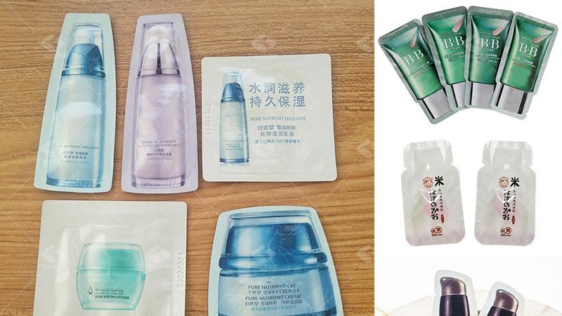 全冲异形袋液体包装机让护肤品行业更青睐