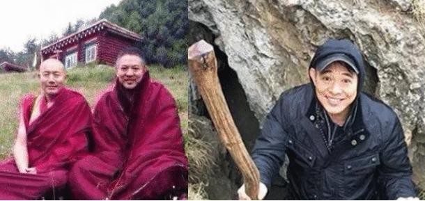 李连杰被拍现状,现身五台山,身体消瘦整日吃斋念佛