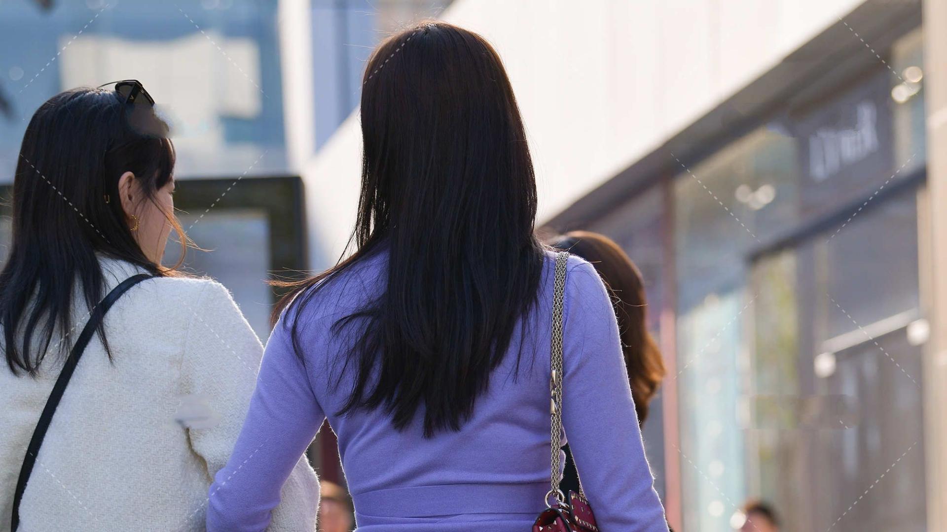 韩版风格穿搭,甜美可爱,散发出清新美丽气息