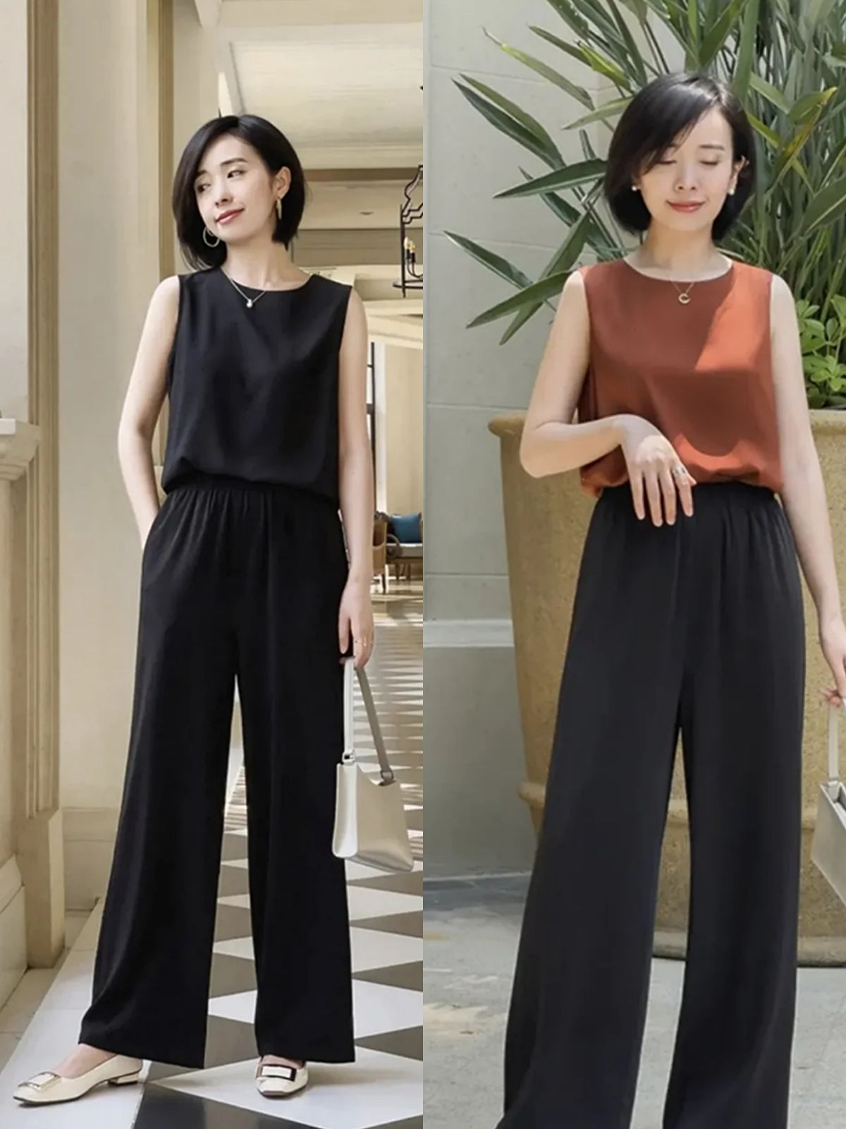 40岁女人穿什么裤子才高级?选这3种盛行款,恬静大方、气质飙升_日本娱乐新闻