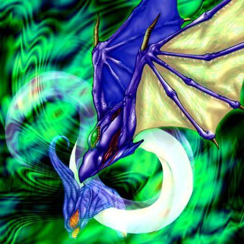 不惧魔法和陷阱的融合怪兽,唯一的缺点可能就是攻击力太低了