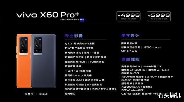 vivoX60Pro+搭载骁龙888+LPDDR5运存+ 好物资讯 第1张