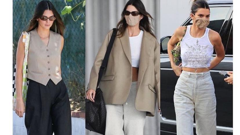 26岁的肯豆为何能跻身一线模特阵容?看她的日常穿搭,发现摩登偶像的时尚风格