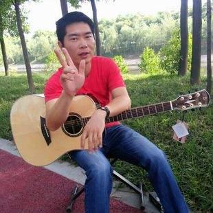 深蓝雨吉他
