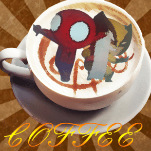 专属咖啡有点儿苦