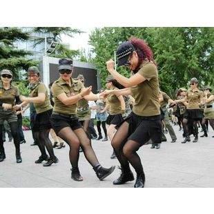 北京陶然水兵舞教学