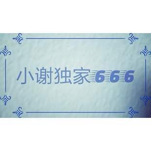 小谢独家666