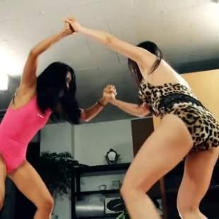 女子摔跤格斗世界