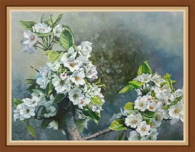 油画家李建国艺术作品欣赏