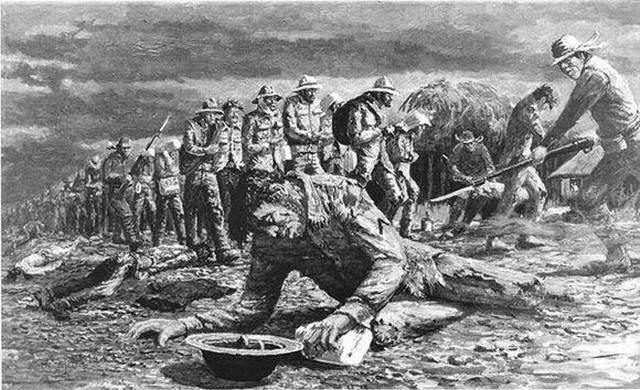日军暴行: 巴丹死亡行军,6天1.5万俘虏被虐杀