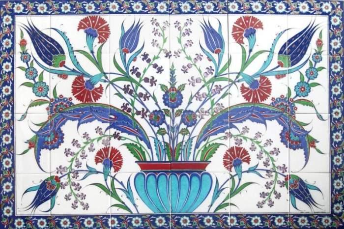 土耳其风格瓷砖.图片:nomadicsonblog / wordpress