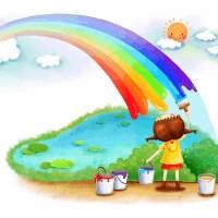 彩虹的花园