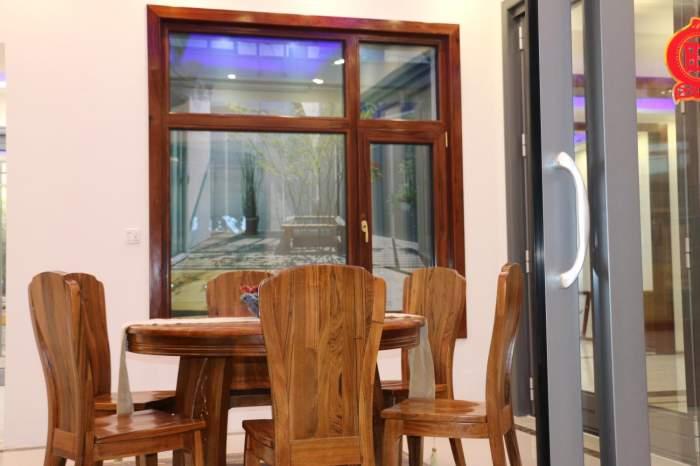 门窗与家具融为一体