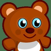卡通熊玩具