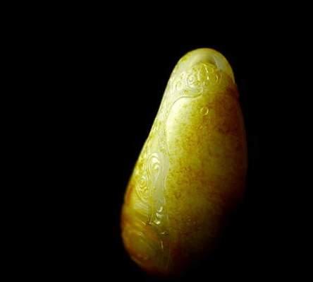 顶部竖裂, 侧面横切裂, 背面网状裂, 这块和田白玉独籽还有救吗