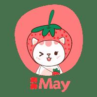 草莓猫玩具