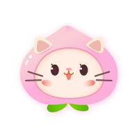 桃子猫玩具