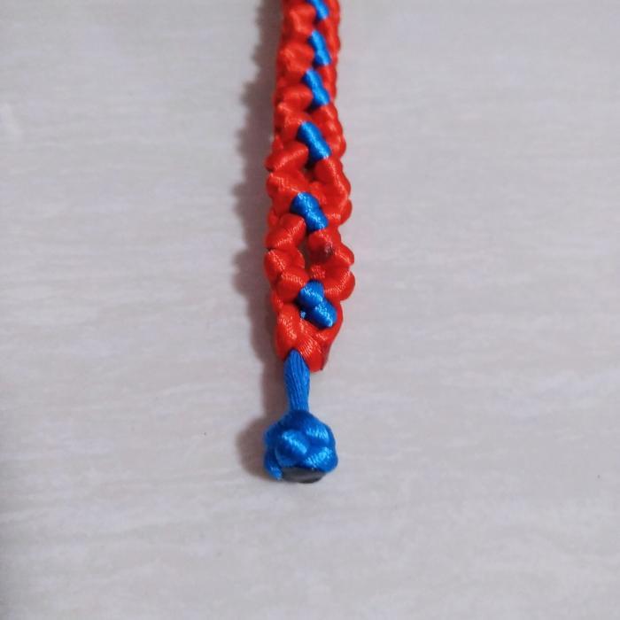 菱形手链编织教程解析