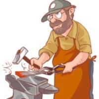 一个老铁匠