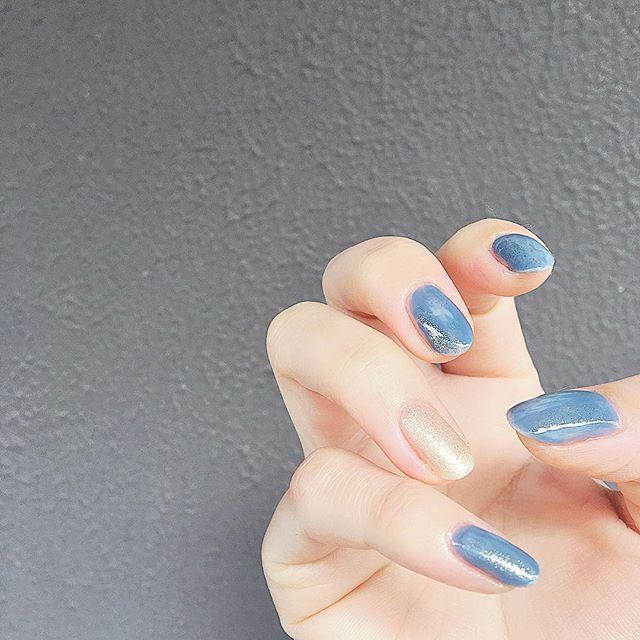 5款「宁静灰蓝」指甲油推荐,显白又温柔,甜美日系必备(图4)
