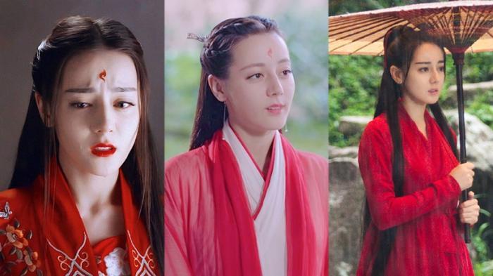 """《枕上书》迪丽热巴成""""最上镜红衣古装女星""""!盘点12套古装红衣造型"""