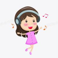 小媛听音乐