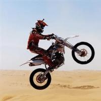 越野摩托车爱好者