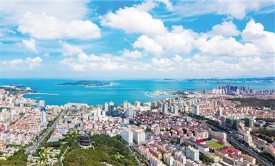 威海环境质量继续领跑全省