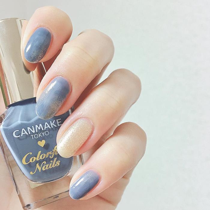 5款「宁静灰蓝」指甲油推荐,显白又温柔,甜美日系必备(图2)