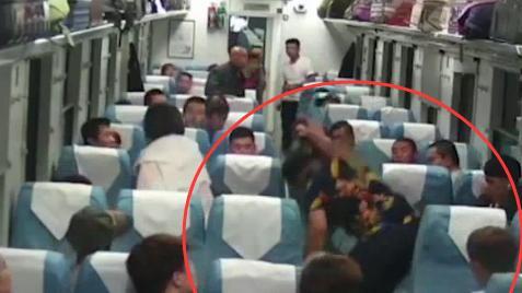 因爭論誰更了解東北大米,兩男子列車上互毆!