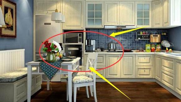 新房裝修,更多人家里不用餐桌而選擇