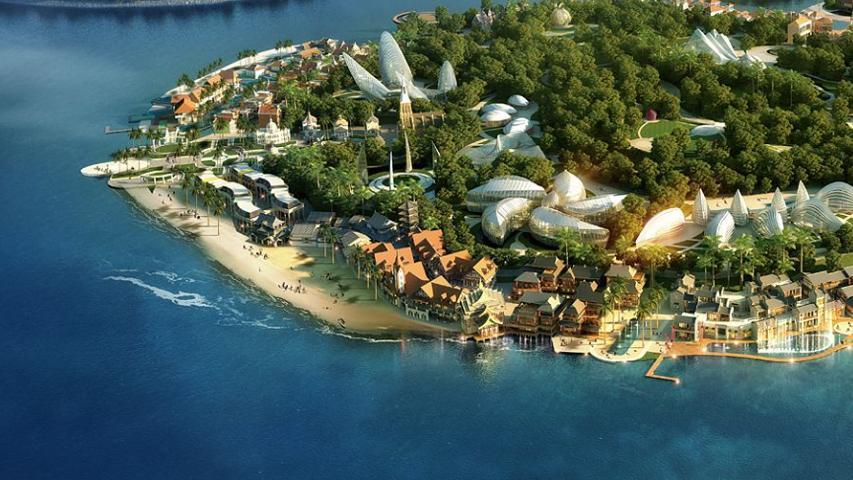 中国最大的人工岛:占地面积12000亩,建设耗资超1600亿