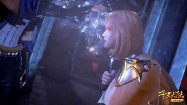 斗罗:唐三释放蓝银领域时,请注意胡列娜的表情,本性暴露无疑