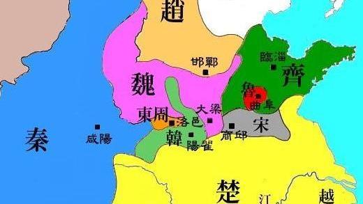 韩国为什么被列入战国七雄,历史作用还真不小!
