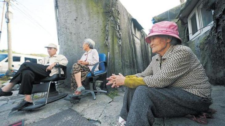 韓國老年人的生存狀況,赤裸裸地擺在大眾面前!