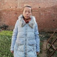 小萍生活在农村