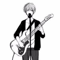 弹琴唱歌的小青年