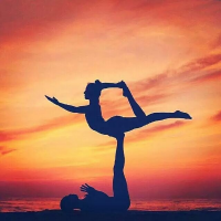瑜伽健身室