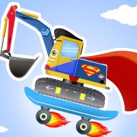 工程车超级英雄