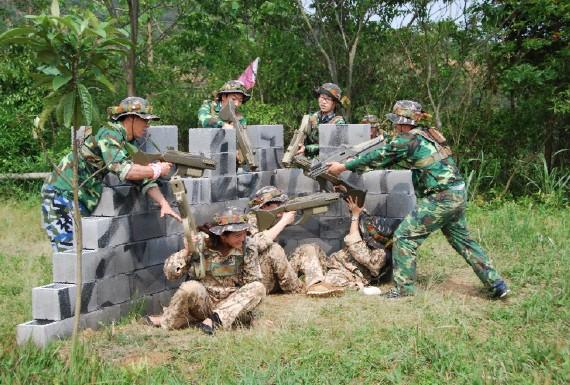 拓展訓練超能陸戰隊